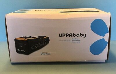 EUC UPPAbaby G-Series Travel Bag with TravelSafe With Box