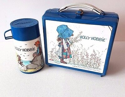 Holly Hobbie Plastic Lunch Box with Thermos