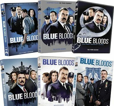 BLUE BLOODS DVD ALL Season 1-6 Complete TV Series DVD Set Collection Lot 2 3 4 5