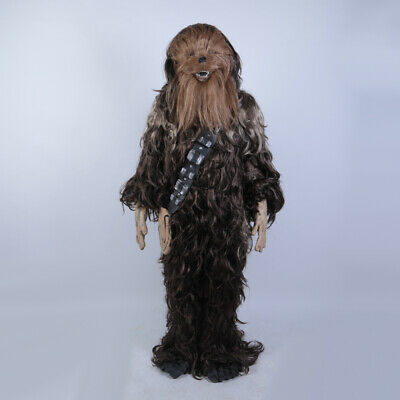 Cosplay Star Wars Chewbacca Costume Halloween Chewie Fancy Dress Adult Full Set
