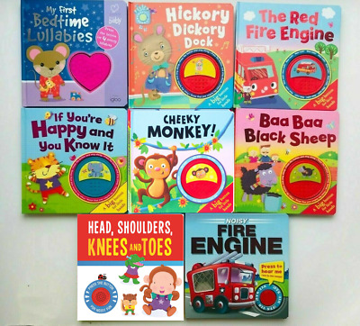 New, Multi Sound Book, Ring-a-Ring O'Roses, Children/Kids Ages 6 Month+,hardback
