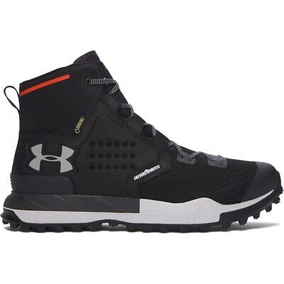 Under Armour Newell Ridge Mid Gtx Mens Footwear Walking Shoes - Black All Sizes