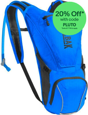 CamelBak Rogue 2.5 Litre Hydration System - Blue Hydration Pack - New 2017