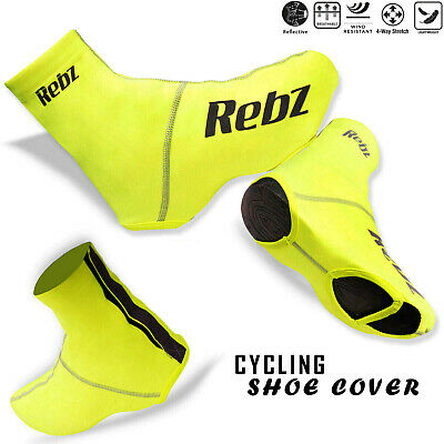Bicycle Shoe Cover Cycling Closure Strap Sportswear Overshoe Dust Proof UK Size