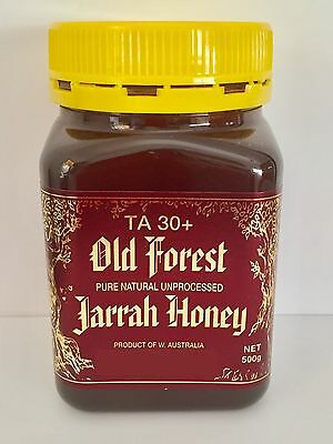 Old Forest Active Jarrah Honey TA30+ 500g (CARTON OF 6)