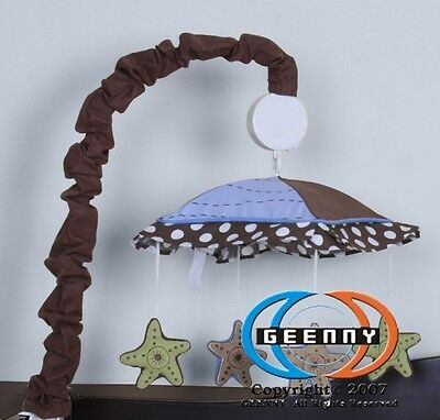 Musical Mobile For New Sea Turtle Bedding Set