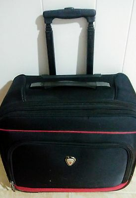 "Calpak ""Suitor"" Rolling 16 inch Laptop Business Overnighter"