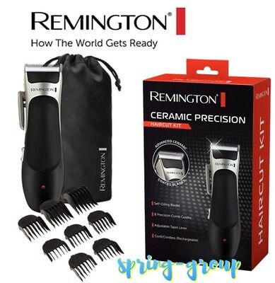 Remington Cordless Electric Hair Clippers Cordless Mens Haircut Clipper Trimmer