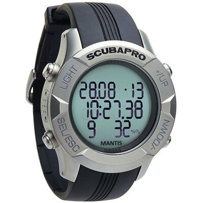 Scubapro Mantis 2, Stainless Steel W/O HRM and Transmitter