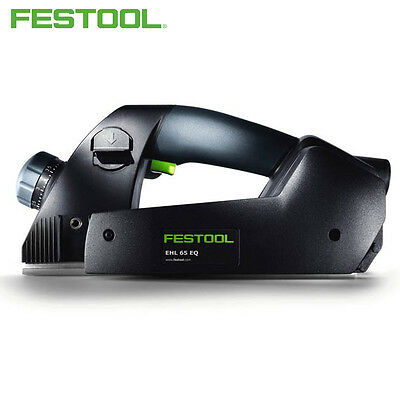 Festool 720W Plug It Lead One Handed Spiral Bladed Sleek Design Planer Hand Tool