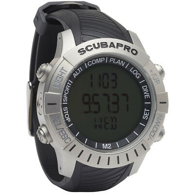 Scubapro Mantis 2 Stainless Steel with HRM and Transmitter