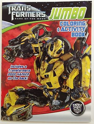 Transformers Jumbo Coloring and Activity Book - Bumblebee Red