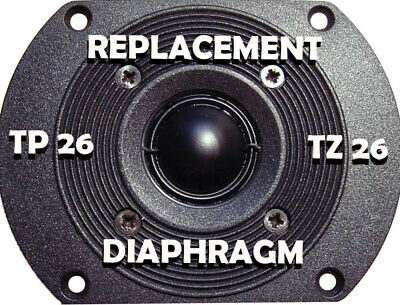B&W Bowers wilkins replacement diaphragm for tweeter TP 26 TZ 26 DM 110 220 330