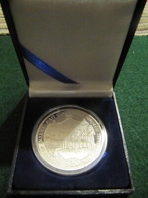 Liberia  2001 $20 Silver Proof Coin First Continental Congress
