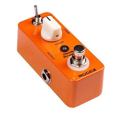 Mooer Micro Series - Ninety Orange Analogue Phaser Guitar Effects Pedal
