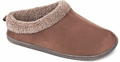$95 32 DEGREES WEATHERPROOF HEAT Men BROWN THINSULATE CLOGS SLIPPERS US 11-12 XL
