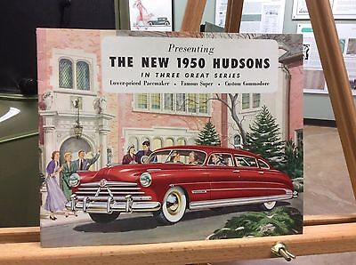 1950 Hudson Color Brochure
