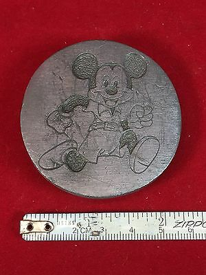 1970's ? Vintage Mickey Mouse 1937 Walt Disney Belt Buckle.