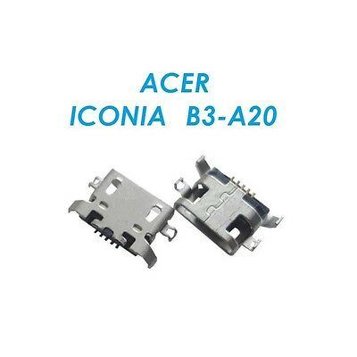 Acer Iconia One 10 B3-A20 Micro USB Charging Socket Port Connector