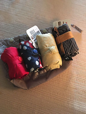 Shopping Envirosax Grocery Bags Reusable 4 Bags w/free Pouch Cute Stylish Eco