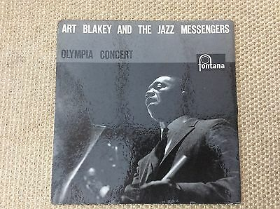 "Art Blakey And The Jazz Messengers. Olympia Concert. 12"" Jazz LP. TFL5116"
