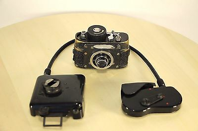 RARE USSR KGB SPY film 21mm RARE Mini CAMERA F-21 AJAX + Covering! WORLDWIDE!