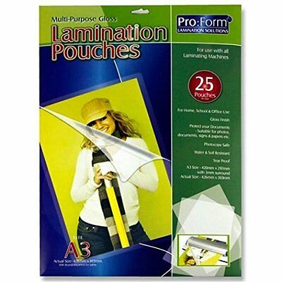 A3 A4 A5 Laminating Pouches Micron Laminator Machine Laminate Pouches Sheets