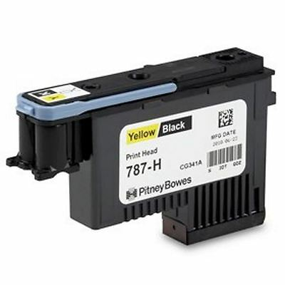 Yellow/Black Printhead for the Pitney Bowes Connect+ Franking Machines - 787-H