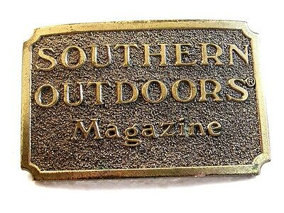 1982 Southern Outdoors Belt Buckle by Great American Buckle Co.