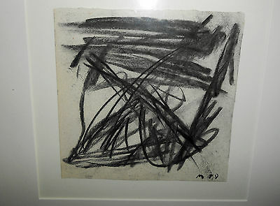 Guido Molinari   1933 - 2004  /WORK ON PAPER  SIGNED  &  DEDICACE .1988