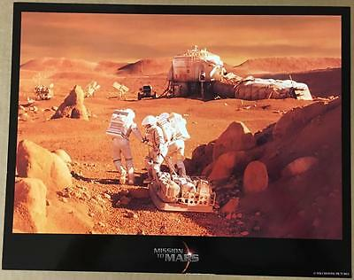 The  astronauts in Mars Mission to Mars 2000 lobby card 1209