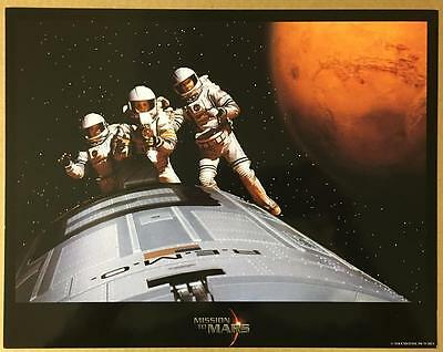 Connie Nielsen Jerry O' Connell Gary Sinise Mission to Mars 2000 lobby card 1215