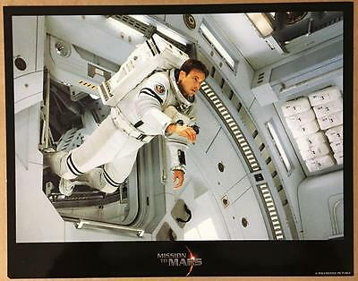 Gary Sinise floating on the spaceship Mission to Mars 2000 lobby card 1210