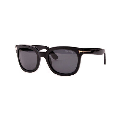 Gafas de sol Unisex Authentic Sunglasses Tom Ford TF211 black gold polarized New