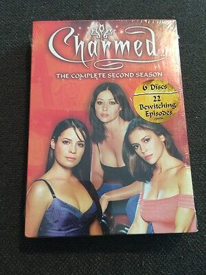 Charmed - The Complete Second Season (DVD, 2005, 6-Disc Set) NEW