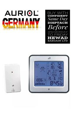 Top Quality Radio Controlled Weather Station (Made By Auriol Germany)