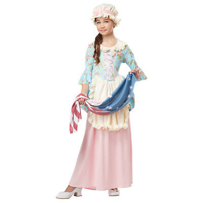Girls Colonial Lady Halloween Costume