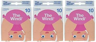 3 Pack (30 Count) - The Windi Gas and Colic Reliever for Babies - FridaBaby