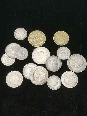 Republic of Guinee Collection 15 Coin Lot Guinea