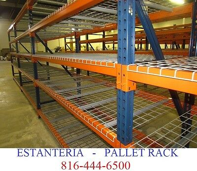 ESTANTERIA INDUSTRIAL NEW CHEAP Teardrop Pallet Rack Shelving SE HABLA ESPANOL