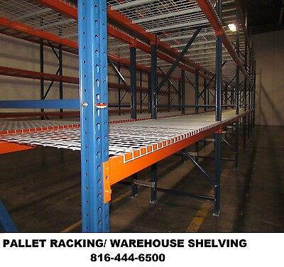 pallet rack warehouse shelving interlake racking shelves steel beams uprights