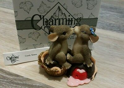 Charming Tails SIGNED Candy Kisses FRITZ and FLOYD Signed by DEAN GRIFF 84/108