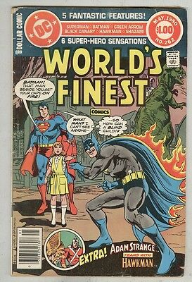 World's Finest #262 May 1980 VG- DC Dollar Series