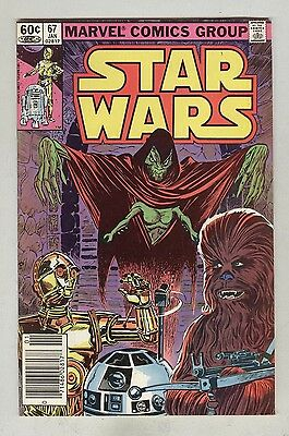 Star Wars #67 January 1983 VG+ Classic Cover