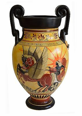 Apollo riding the Sun chariot -God of Light-Goddess Athena with Poseidon Contest