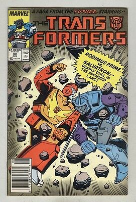 Transformers #43 August 1988 VG
