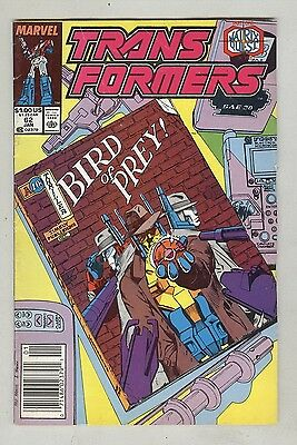 Transformers #62 January 1990 VG-