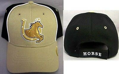 Gifts HoCap10 Z Horse  /&  Horse Shoe  Baseball Caps Hats Silver Embroidered
