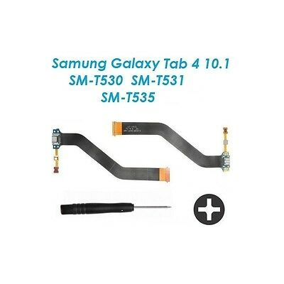 Connecteur charge  USB Samsung Galaxy Tab 4 Rev 0.3 + tournevis