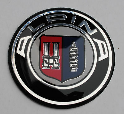 ☆ STICKER LOGO  ALPINA 45 mm pour Volant BMW ☆